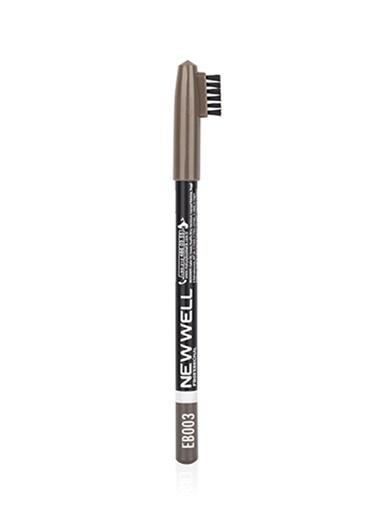 New Well New Well EB003 - Açık Kahve Kaş Kalemi Renksiz